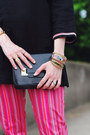 Black-mini-sophie-hulme-bag-black-sandals-stuart-weitzman-heels