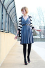 Gray-drapey-jersey-development-dress-black-young-fabulous-broke-sweater-bl