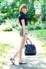 Black-shoulder-bag-boyy-bag-lime-green-tropical-print-topshop-shorts