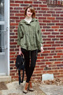 Army-green-lace-up-booties-tory-burch-boots-beige-turtleneck-banana-republic-s