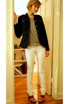 Alice Temperley for Target blazer - Gap top - Mango jeans - mellow yellow shoes