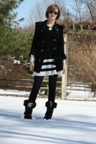 forever 21 vest - Ray Ban sunglasses - Alice Temperley for Target dress - Techni