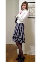 Gap jacket - karen millen dress - Chanel lambskin 255 purse - Pour La Victoire s