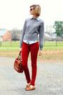 Ruby-red-skinny-jeans-zara-jeans