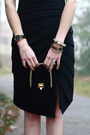 Black-leather-bcbg-watch-black-leather-sleeve-rag-bone-dress