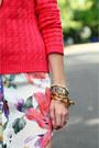 Carrot-orange-shoulder-bag-romwe-bag-ivory-asos-dress