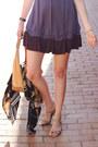 Violet-ruffled-ella-moss-dress-black-kimono-pixie-market-jacket