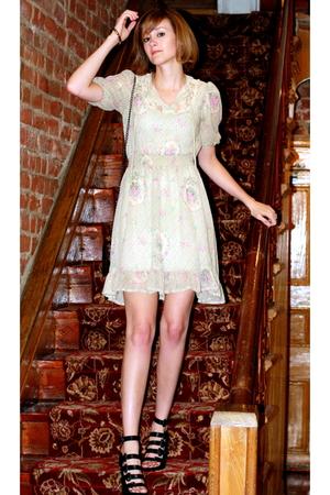 vintage dress - Christopher Kane for Topshop purse - Forever 21 shoes