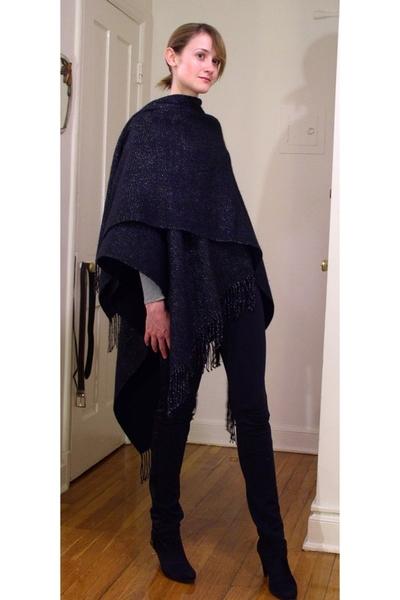 accessory street scarf - Target pants - Target shirt - Zara shoes
