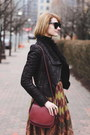 Black-leather-romwe-jacket-black-turtleneck-zara-sweater
