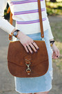 Off-white-stripes-vintage-sweater-brown-crossbody-saddleback-leather-bag
