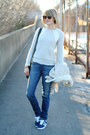Blue-skinny-jeans-textile-elizabeth-and-james-jeans