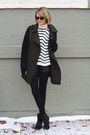 Black-ankle-belle-by-sigerson-morrison-boots-olive-green-two-tone-mango-coat
