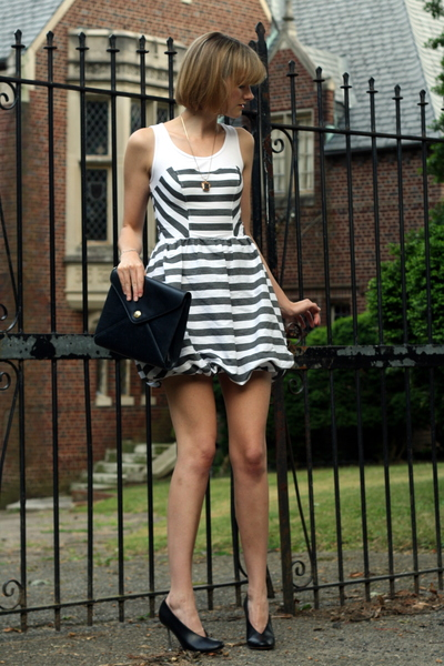 Topshop dress - maison martin margiela shoes - Ralph Lauren purse - Ralph Lauren