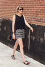 Black-bucket-bag-mansur-gavriel-bag-white-printed-cartonnier-shorts
