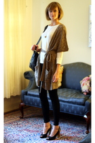 H&M sweater - costume dept leggings - PROENZA SCHOULER shoes - Boyy purse