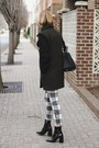 Black-patent-mango-boots-dark-green-two-tone-mango-coat