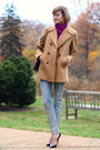 Camel-peacoat-vintage-brooks-brothers-coat-silver-destroyed-7fam-jeans
