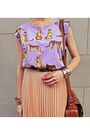 Light-purple-wwwromwecom-t-shirt-nude-wwwjovonnalondoncom-skirt