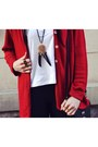 Ruby-red-second-hand-cardigan-black-h-m-hat-black-h-m-leggings