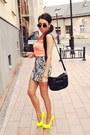 White-h-m-skirt
