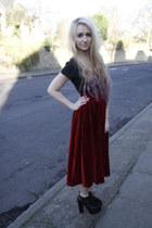 brick red Dixi skirt