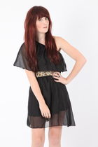 black Dixi dress