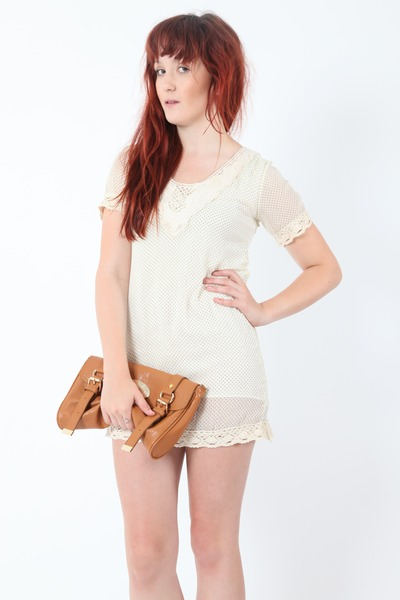 beige Dixi dress
