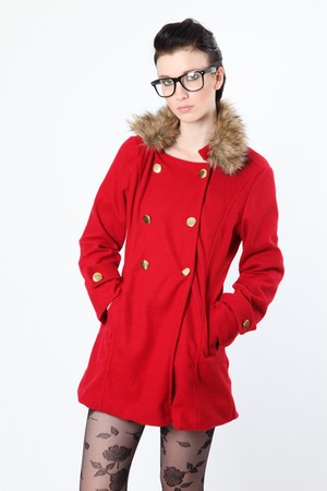 red Dixi coat
