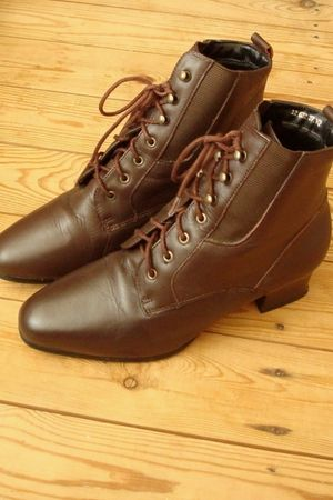 brown Vintage  Dixi boots