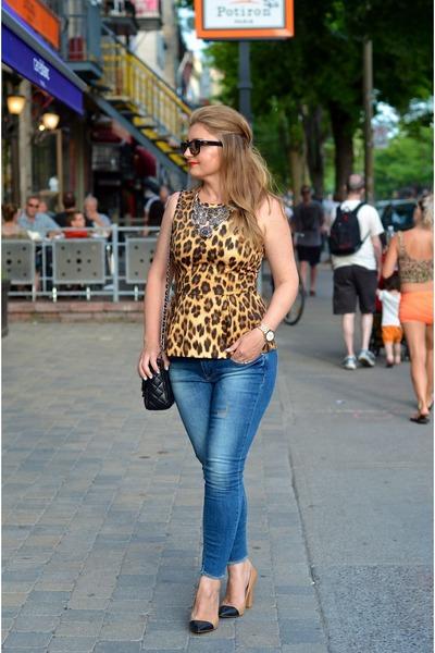 Zara shoes - Zara jeans - Zara necklace - Zara top