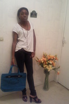 H&M shirt - Zara jeans - Marc by Marc Jacobs accessories - shoes