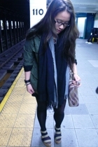 Carhartt jacket - Kimchi&Blue accessories - gap pierre hardy shoes