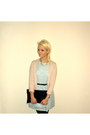 Black-h-m-bag-light-blue-glamorous-dress-light-pink-mango-sweater