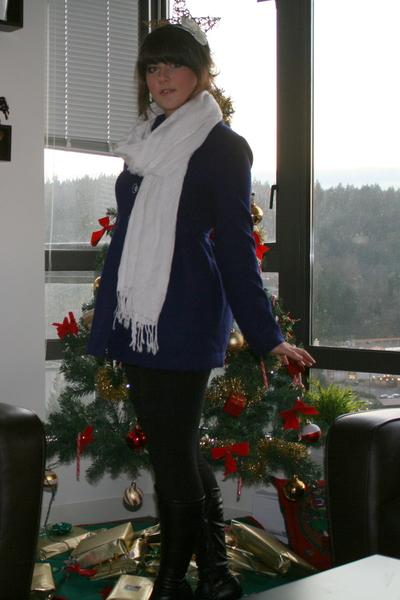 blue Forever21 jacket