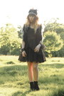 Black-only-dress-black-only-one-jacket-black-h-m-accessories