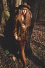 Bronze-asos-boots-gold-free-people-dress-brown-asos-hat