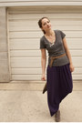 Heather-gray-suede-forever-21-boots-purple-as-a-skirt-max-studio-dress-heath