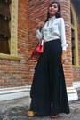 Maroon-accessorize-bag-mustard-gibi-shoes-heels