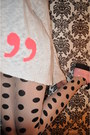 Loose-topshop-jumper-polka-dot-h-m-stockings-platforms-h-m-flats