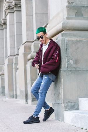 Hudson jeans - christian dior sunglasses - Adidas sneakers