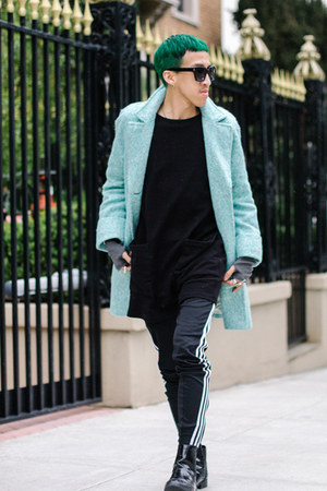 Celine sunglasses - Adidas pants