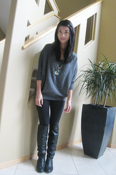 Sweaters For Leggings And Boots Ensas