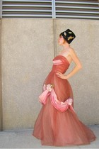 emma domb dress - hat
