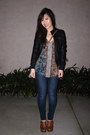 Blue-jeggings-citizens-of-humanity-jeans-black-faux-leather-forever-21-jacket-
