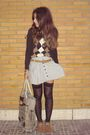 Brown-massimo-dutti-jumper-white-primark-skirt-black-oysho-socks-brown-boo
