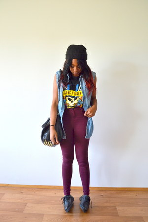 crimson GINA TRICOT jeans