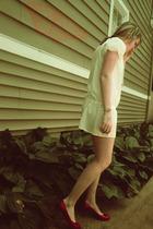 trinity dress - Stuart Wetizman shoes