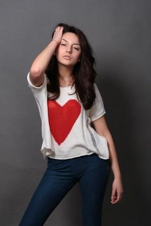 H&M boots - H&M leggings - new look blouse