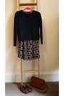 Paisley-print-primark-dress-tan-leather-vintage-bag